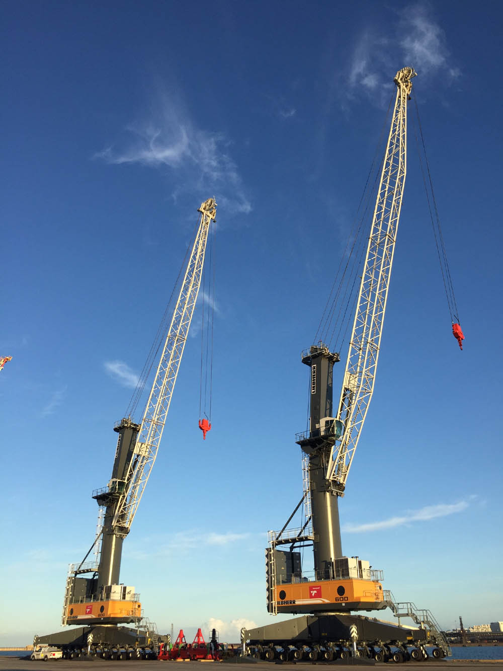 Multi-use LHM 600 pair arrive in Port Elizabeth