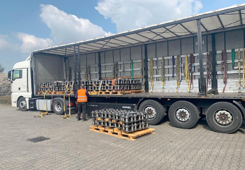 Bulk handlers ramp-up spare parts inventories