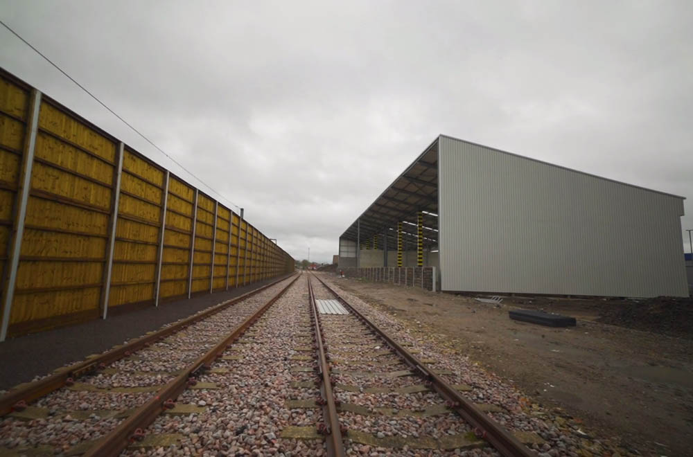 New rail terminal set to serve London construction sector