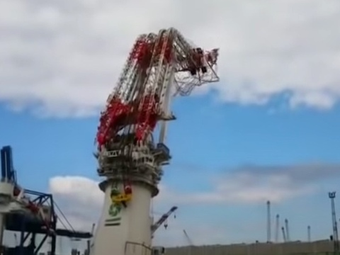 Update on crane test accident in Rostock