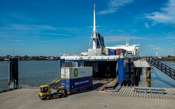 UK's largest unaccompanied ro-ro freight terminal opens