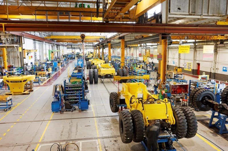 Hyster Europe resumes production at all plants