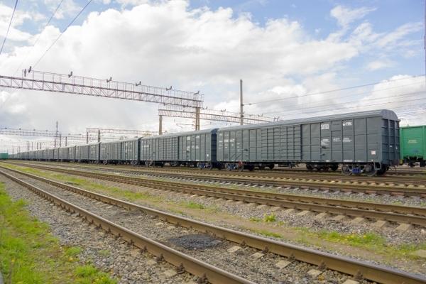 UWC delivers box rail cars to Kuchukterminal