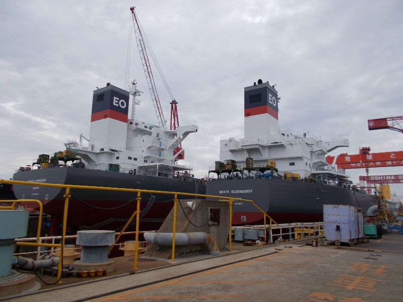 Two more bulk carriers for Oldendorff