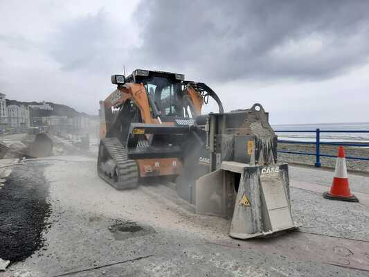 Manx job for CASE compact track loader