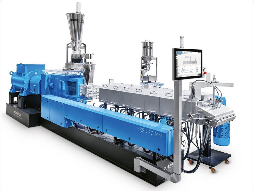 Coperion plant for RenCom's biomaterial production