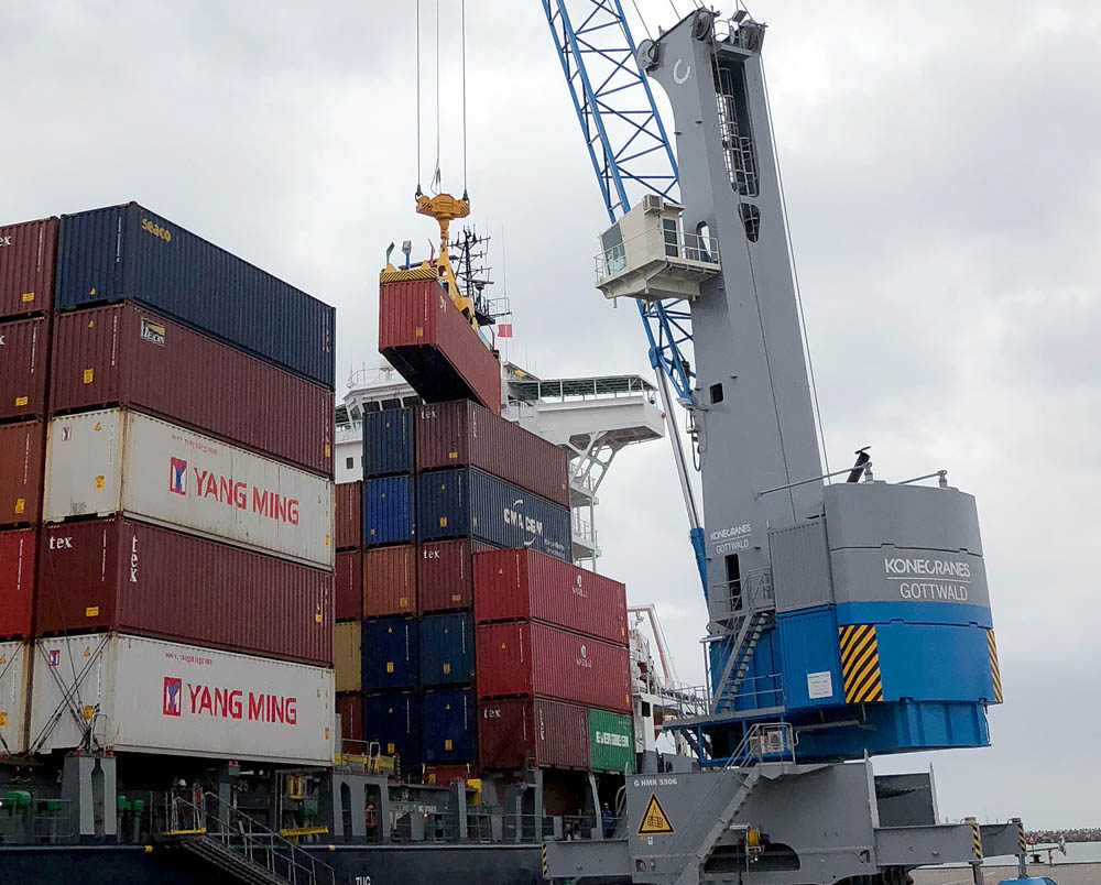 Konecranes MHC for new terminal in Trieste