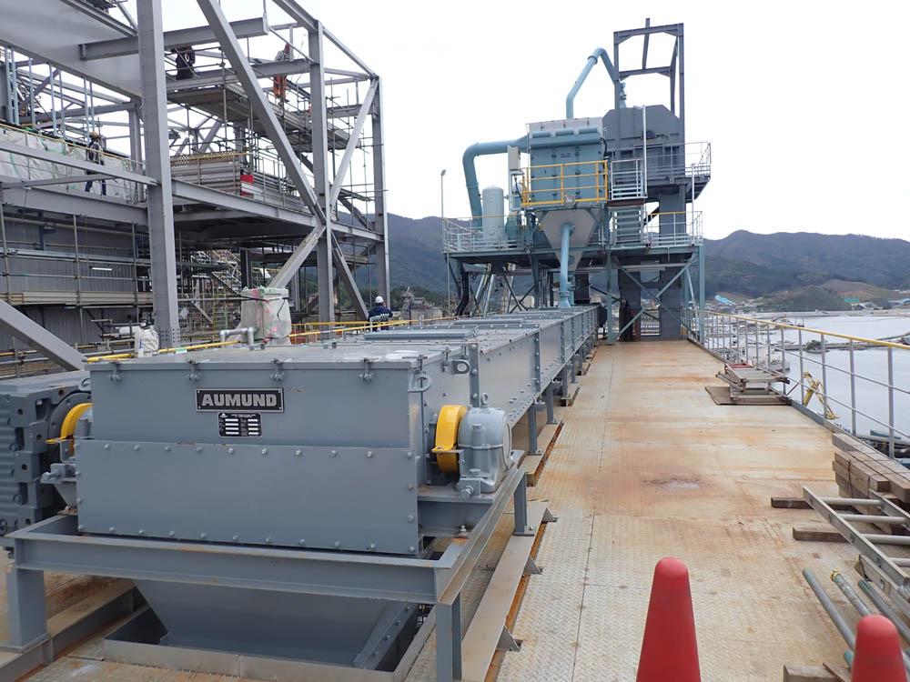 Aumund makes Biomass breakthrough in Japan