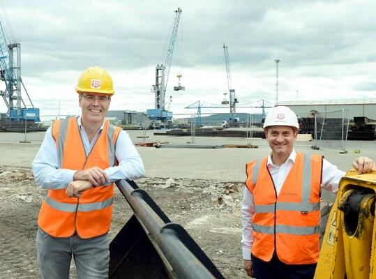 Fuel pelleting plant for Middlesborough, UK