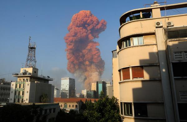Port of Beirut hit by huge explosion