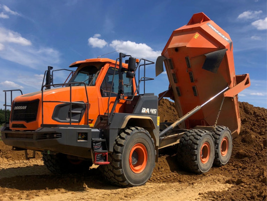 New ADT provides rough terrain solution
