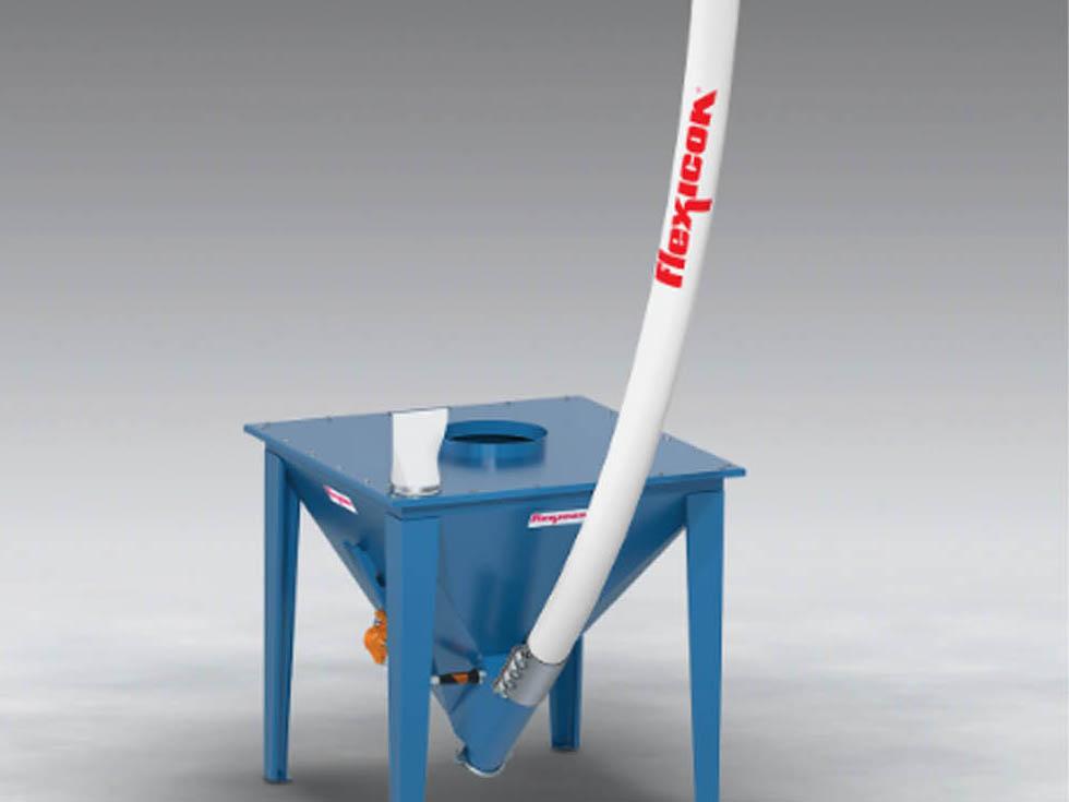 New base model flexible screw conveyor