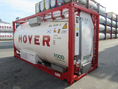 HOYER adds reefer tanks
