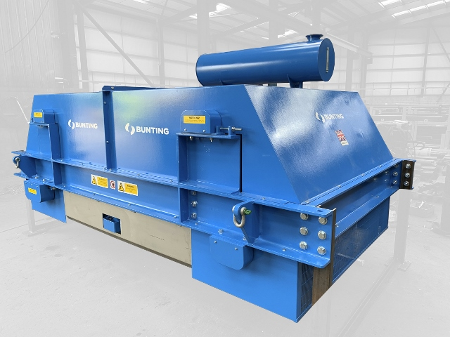 Bunting builds biggest electro overband magnet