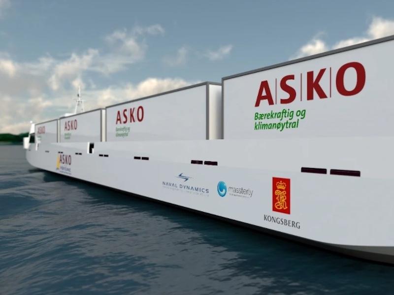 Cavotec new generation MoorMaster for ASKO autonomous ro-ros