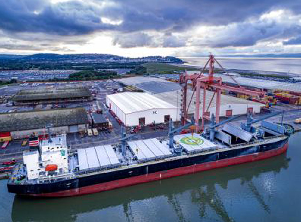 Bristol facility a boost for steel shippers
