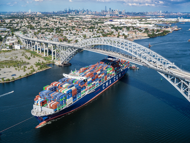 CMA CGM Brazil makes East Coast calls