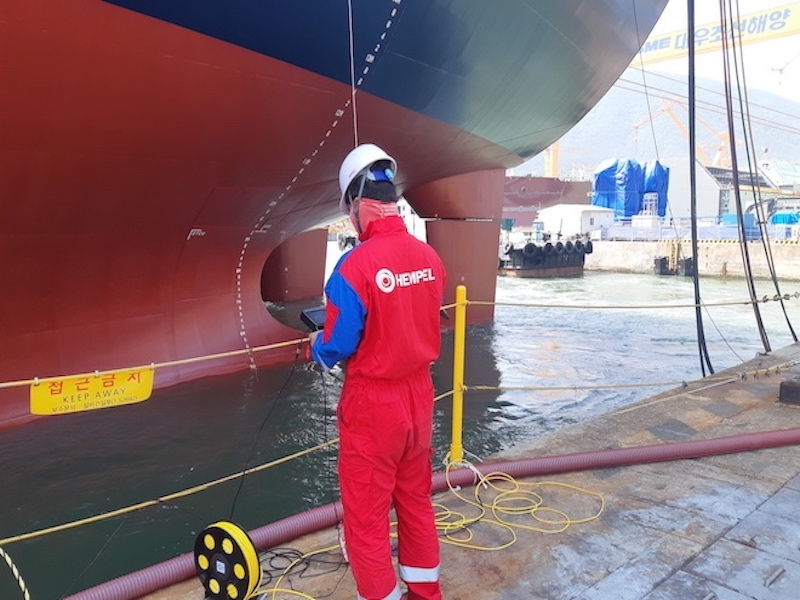 Remote hull inspections from Hempel