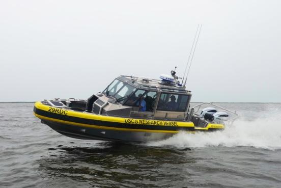 Autonomous vessel tests for US Coast Guard