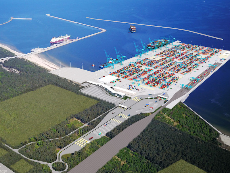 Szczecin and Świnoujście's new box terminal moves forward
