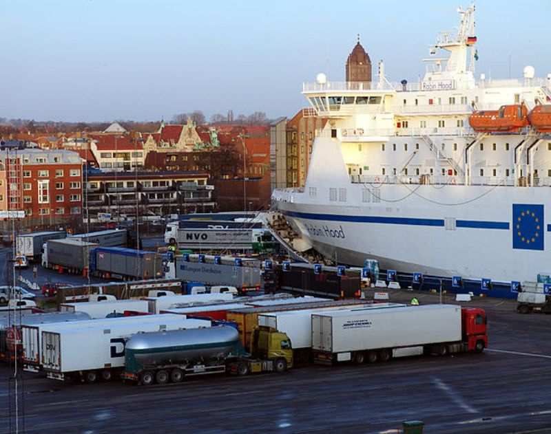 Port of Trelleborg has Nowhere to go