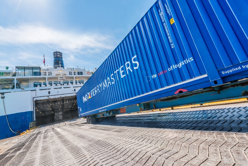 P&O Ferrymasters offers track & trace service