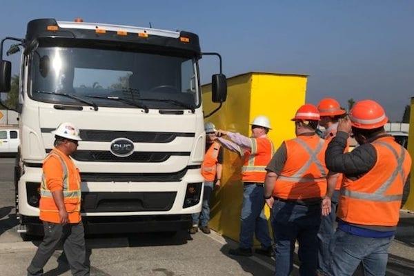 LA pushing for zero-emission drayage trucks