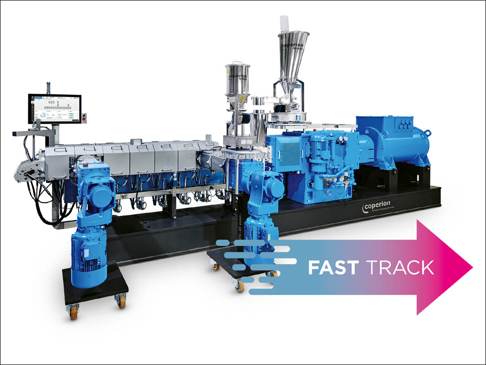 Coperion extruders for Sirmax biocompounds
