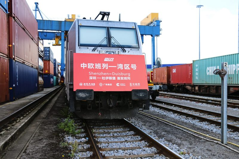 China rail traffic lifts Duisburg container volumes