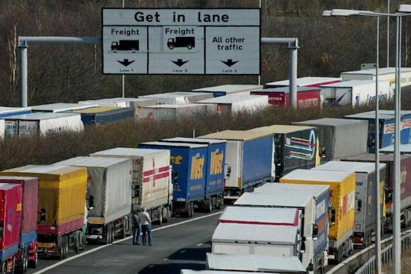 Brexit - NAO expects widespread transport disruption from 1st January