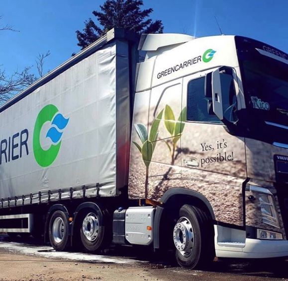 Sweden-based Greencarrier buys a road freight business from Finnish Rail