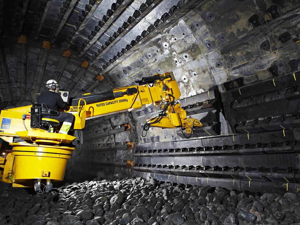 Service contract at Aitik copper mine
