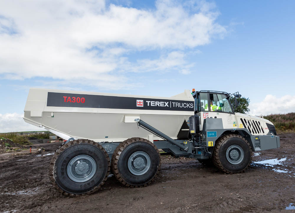 Terex Trucks signs new dealer in Canada