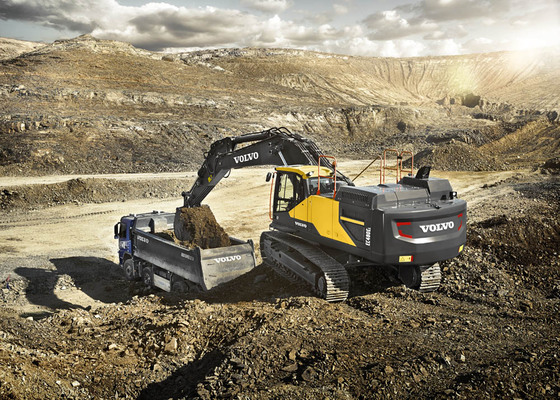 Volvo CE's fourth quarter 2020 sales up 6%
