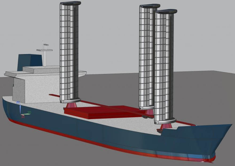 Cargill joins WindWings ship sail project