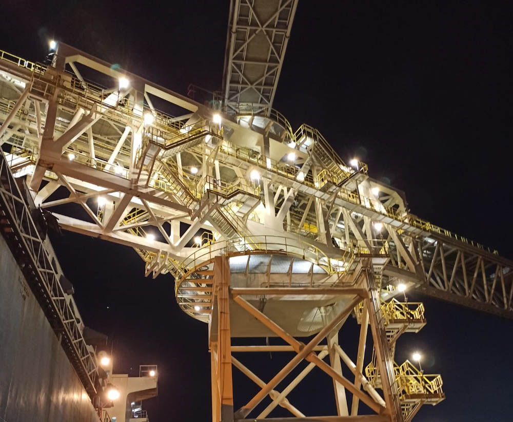 Cargill Westwego shiploader set to go live