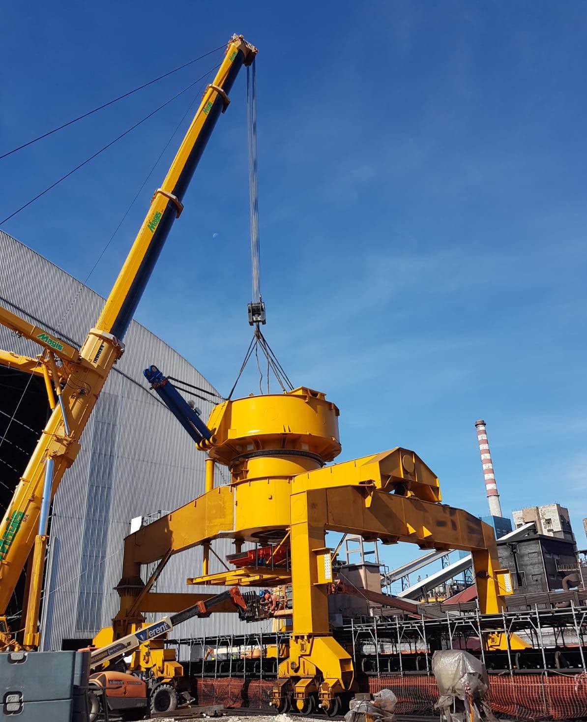 Bedeschi restarts its operations at Taranto steel plant