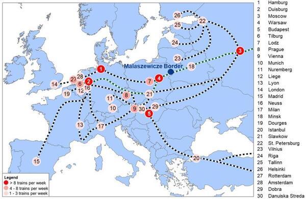 New study on China-Europe rail landbridge