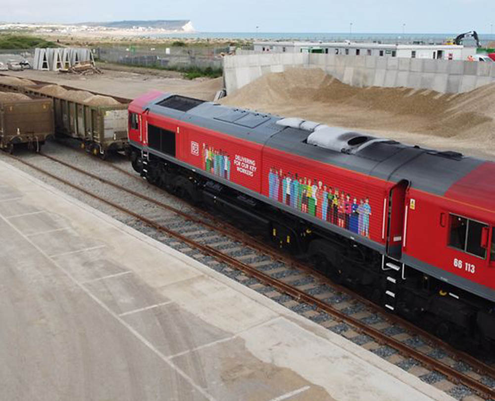 DB Cargo UK inks Brett Aggregates contract