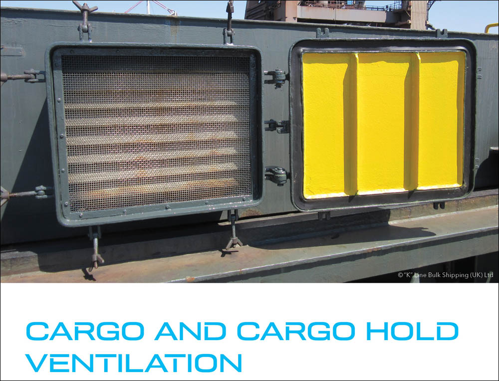 New ventilation guide for bulk carrier crew