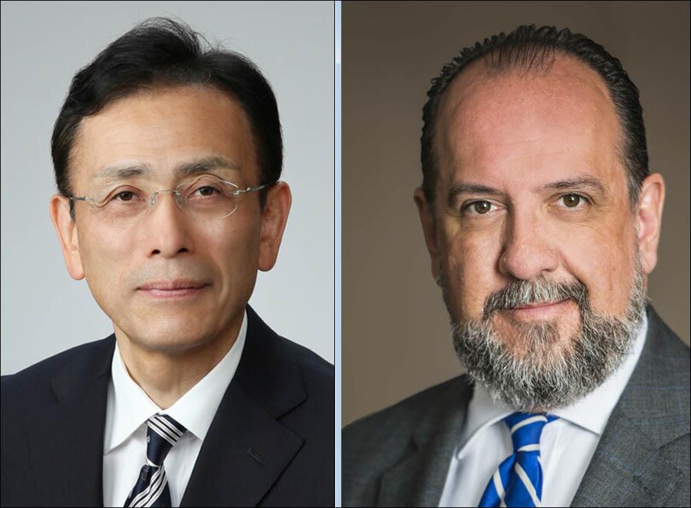 Masahiko Furuichi and Dr Patrick Verhoeven
