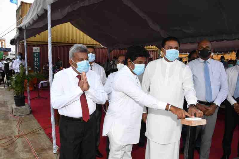Phase 5 of Jaya Container Terminal in Sri Lanka under way