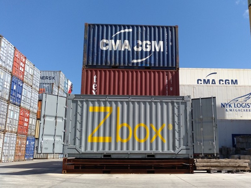 Zbox foldable container gets €2.2M of EU funding support