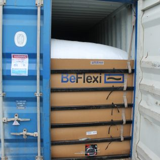 Flexitanks cross from Russia to China