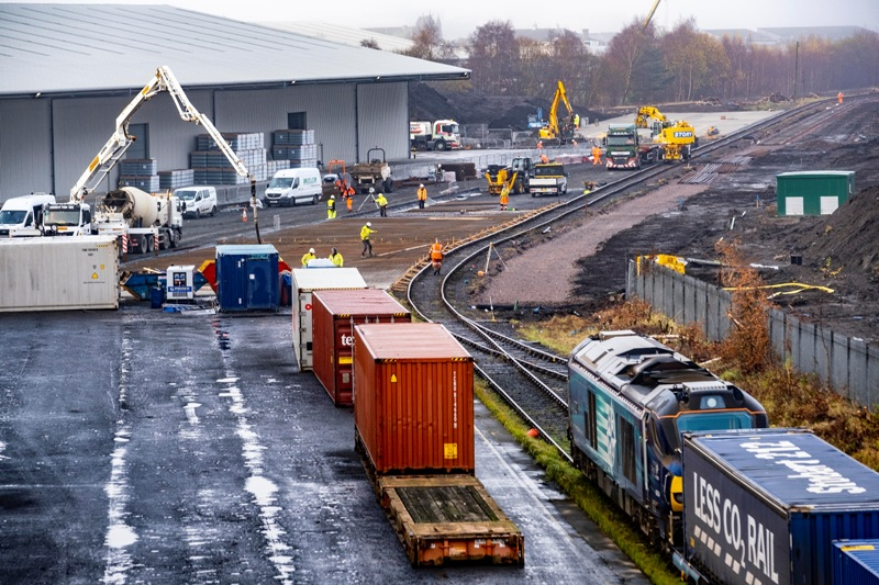 £3M investment in Grangemouth rail
