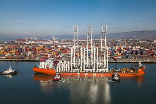 OICT's three new ZPMC cranes are now in service
