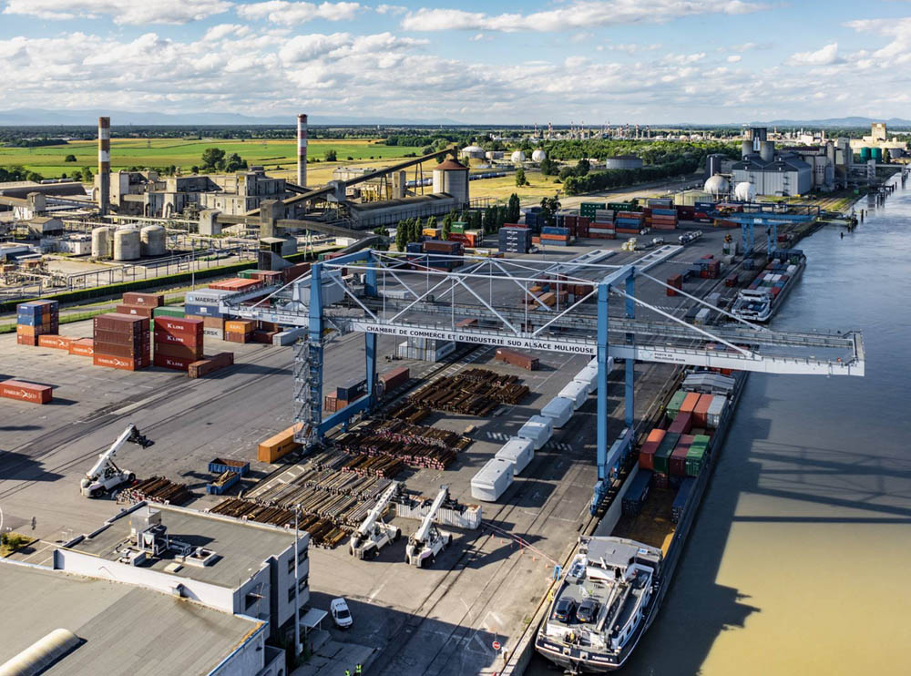 Three French inland ports for Swissterminal