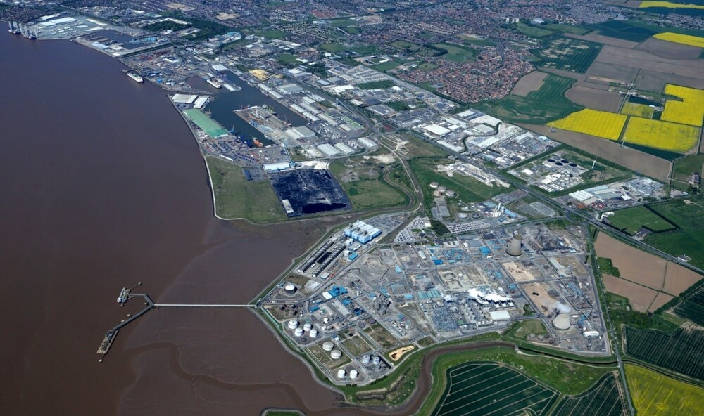 The Port of Hull. The area on the eastern side and above is one of three proposed 'tax sites', the others being on development land in Goole and on the Able Marine Development Park in Killingholme