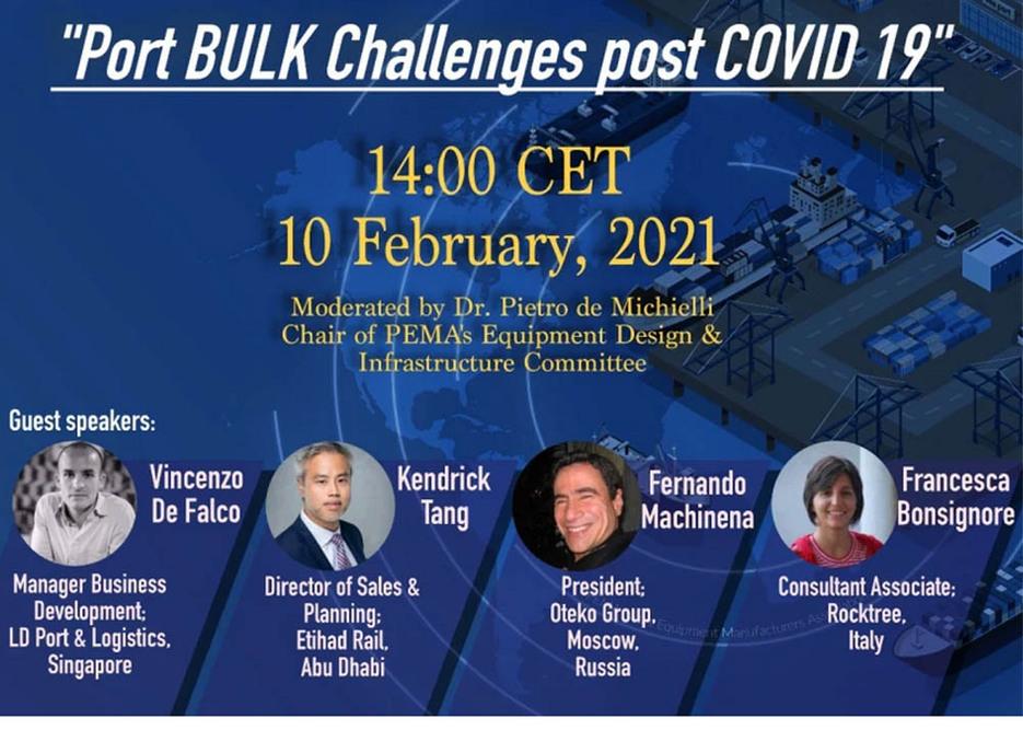 Focus on post-COVID-19 bulk handling in ports
