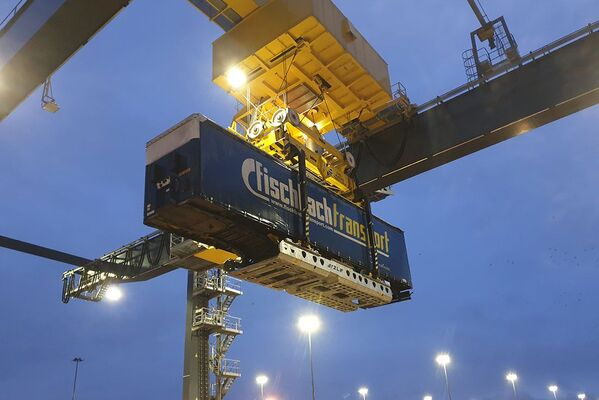C.RO Ports in Rotterdam using VEGA-VTG platforms